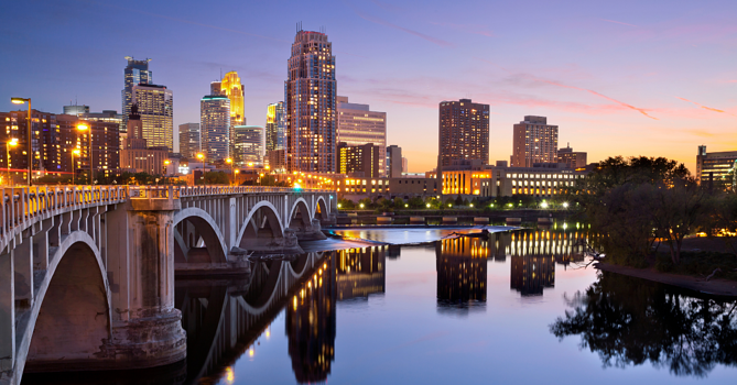 Finding Land in Minneapolis for Building - Minneapolis City scape